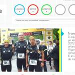 Web de la Fundación Deportistas Solidarios en Red