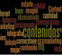 composición de palabras relacionadas con el post