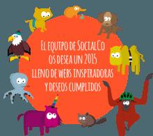 El equipo de SocialCo os desea un 2015 lleno de webs inspiradoras y deseos cumplidos