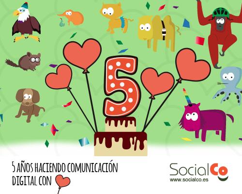 Quinto aniversario de SocialCo