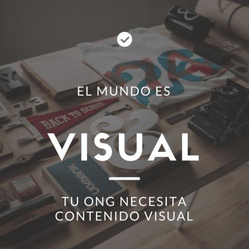 tu ONG necesita contenido visual