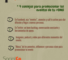 4 consejos para promocionar los eventos de tu ONG