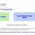 Localizador de personas de Google