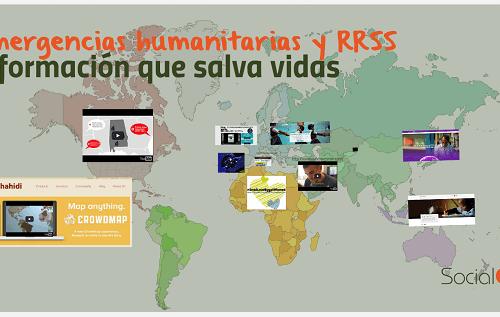 Emergencias humanitarias y redes sociales