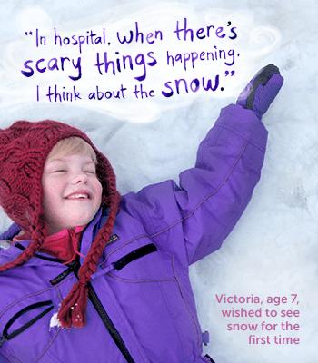 Cartel de la campaña navideña de Starlight Foundation
