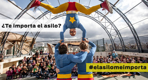 Campaña #elasilomeimporta de ACNUR