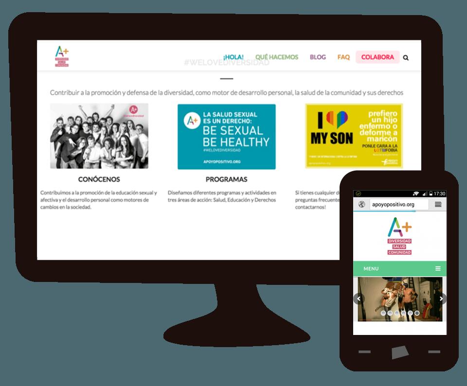Imagen del trabajo Nueva web corporativa de Apoyo Positivo