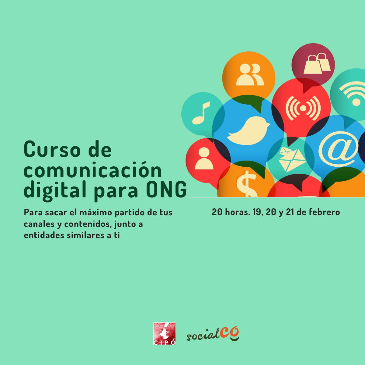 Curso de comunicación digital para ONG