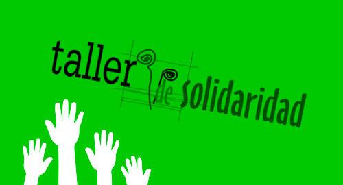 Detalle de la web de la ONG Taller de Solidaridad