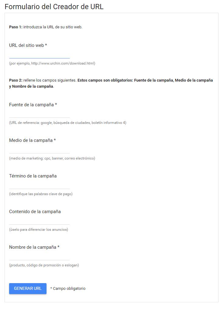 generador_url con UTM de Google