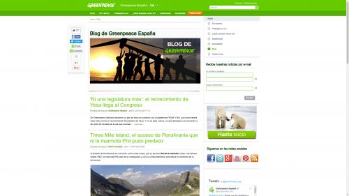 blog greenpeace