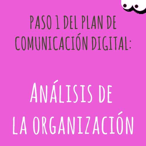paso 1 del plan de comunicación digital
