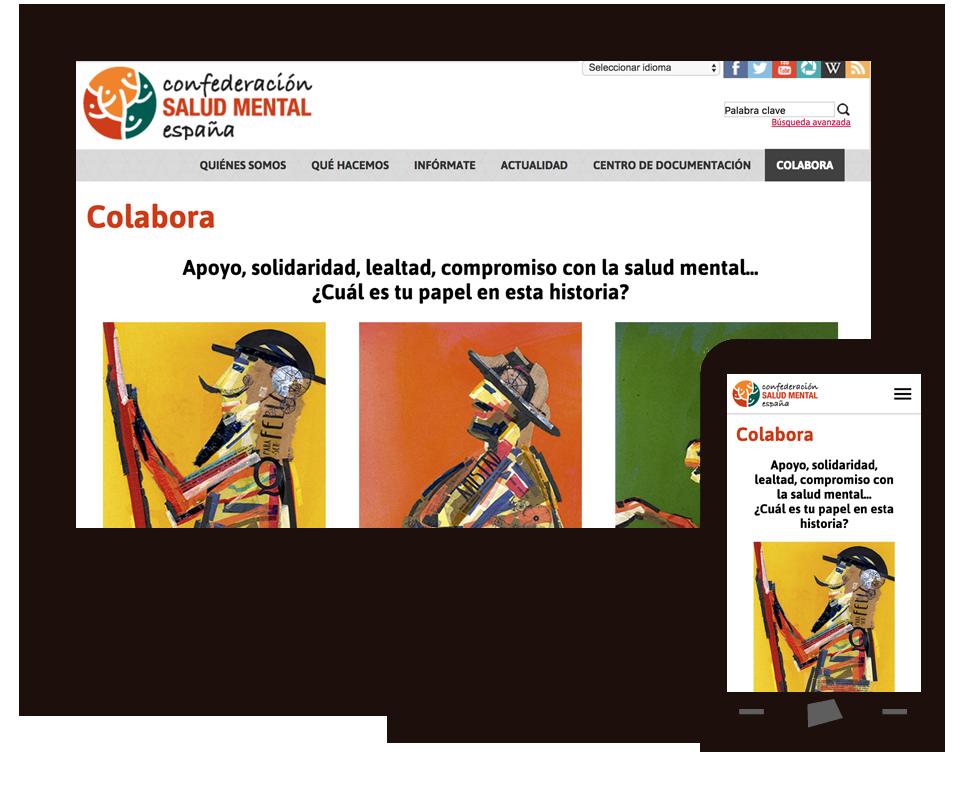 Imagen del trabajo Nueva sección de captación de la Confederación SALUD MENTAL ESPAÑA