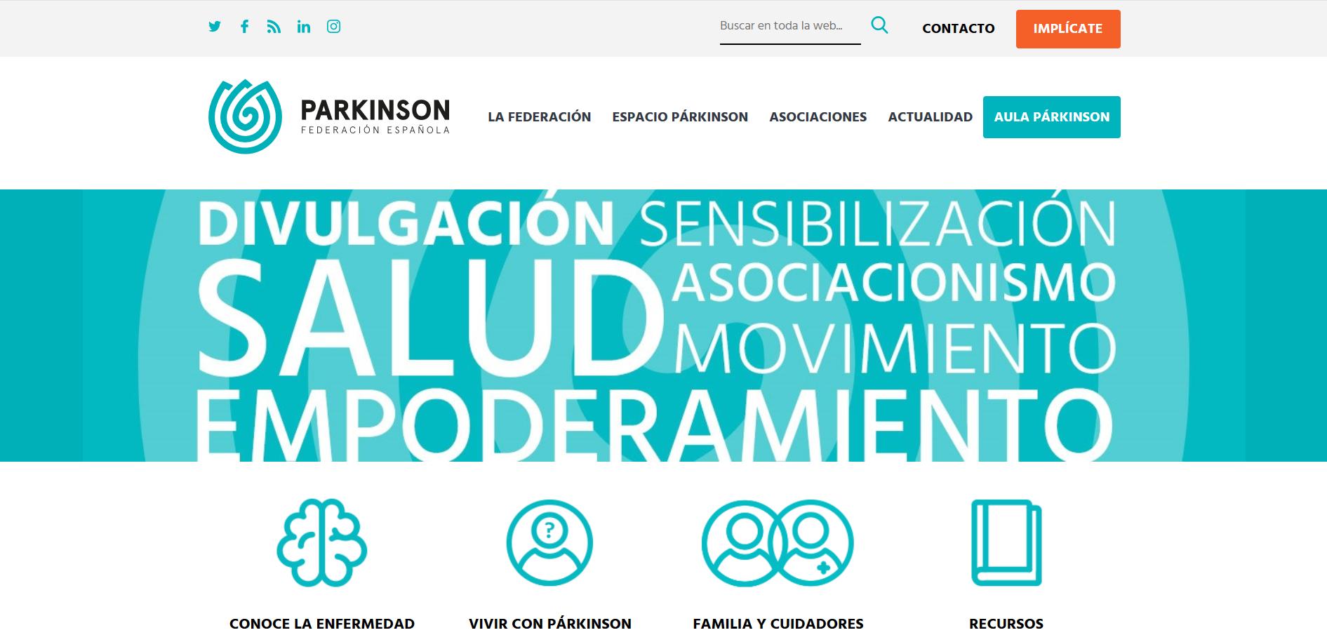 Imagen del trabajo Federacion Española de Parkinson