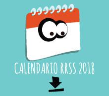 Calendario del Community Manager de ONG 2018
