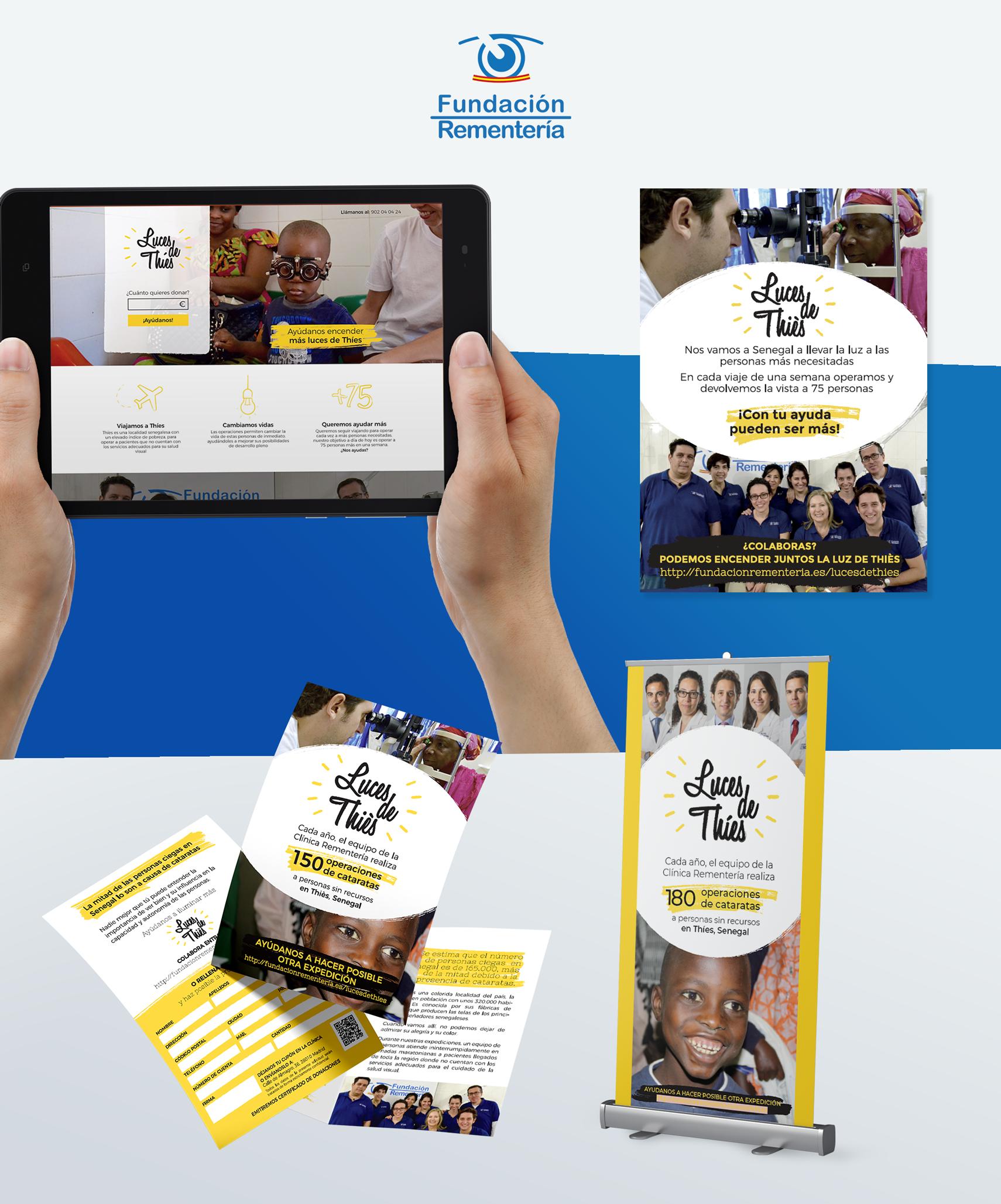 campaña de donación y captacion de fondos fundación Rementería