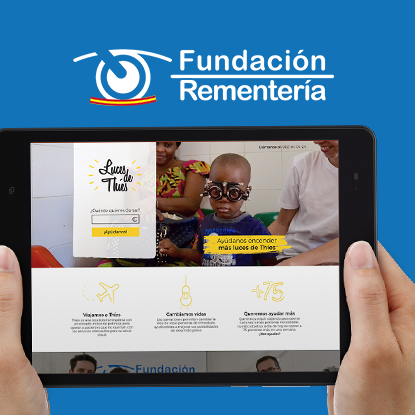 campaña de donación captacion de fondos Rementeria