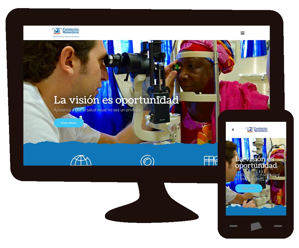 Imagen del trabajo Nueva web Fundación Rementería