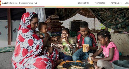 Informe de Actividades Aecid 2016