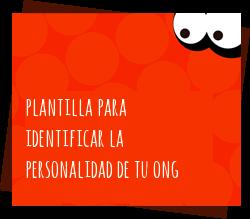 Plantilla para identificar la personalidad de tu ONG