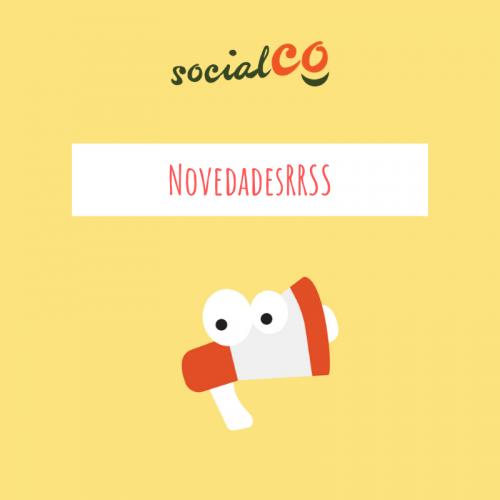 novedades redes sociales por SocialCo