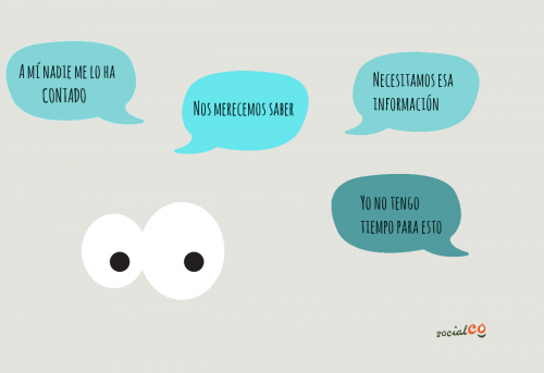 quiénes son los diferentes grupos de comunicación interna que existen en las ONG