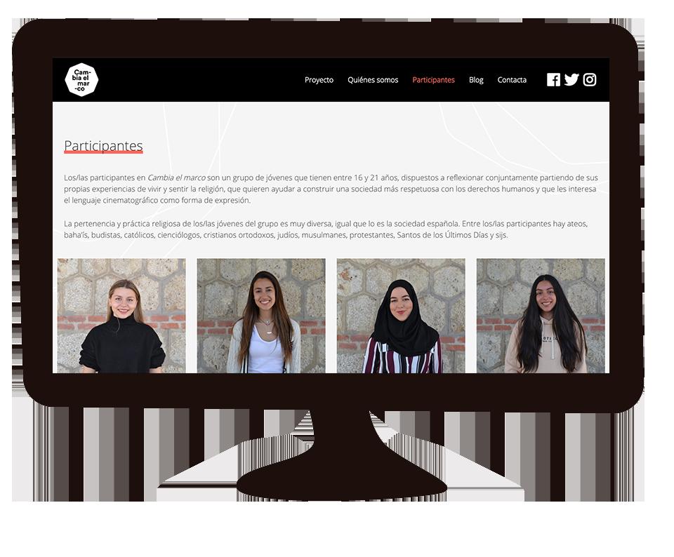 Imagen del trabajo Cambia el marco. Nuevas miradas para una sociedad intercultural