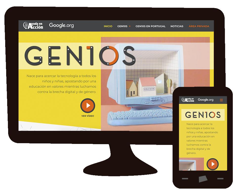 Imagen del trabajo GEN10S: web para Ayuda en Acción