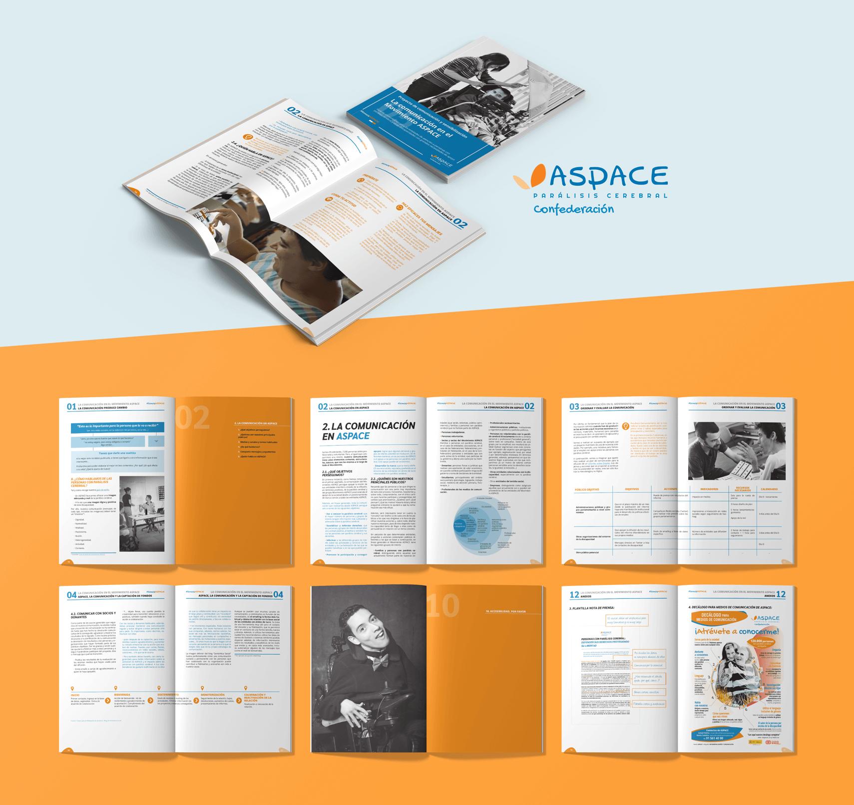 Contenidos corporativos y de comunicación como esta Guía: la comunicación en el movimiento ASPACE.