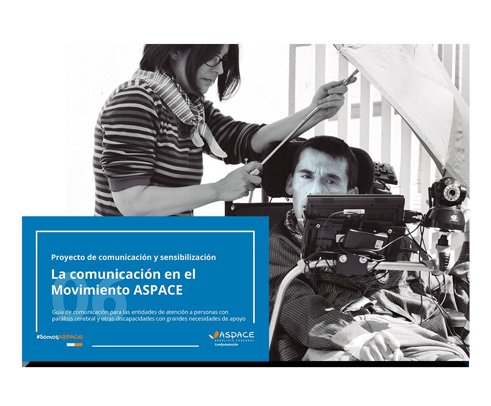 Imagen del trabajo Guía: la comunicación en el movimiento ASPACE