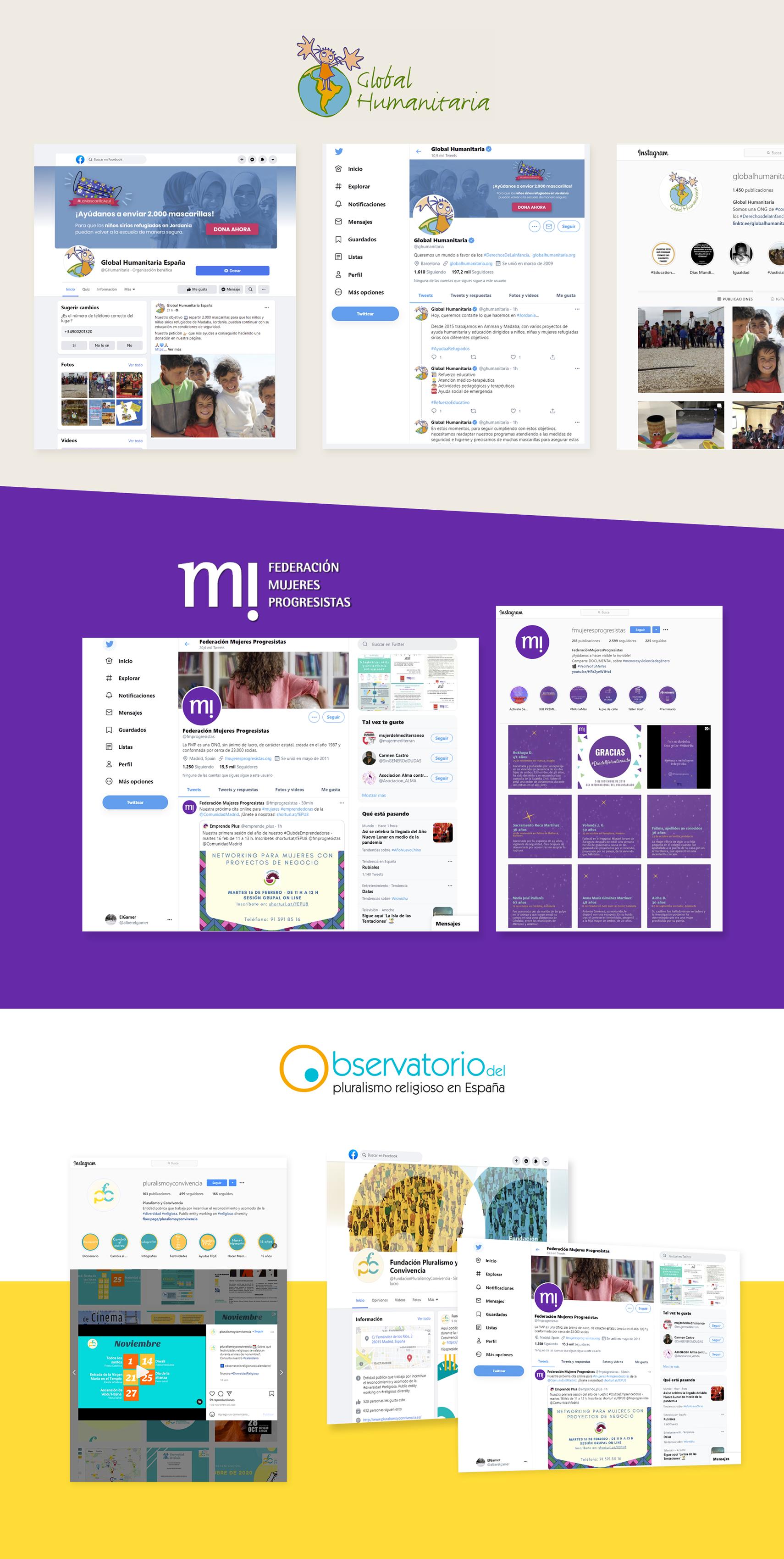 redes sociales para ong comunicación digital tercer sector