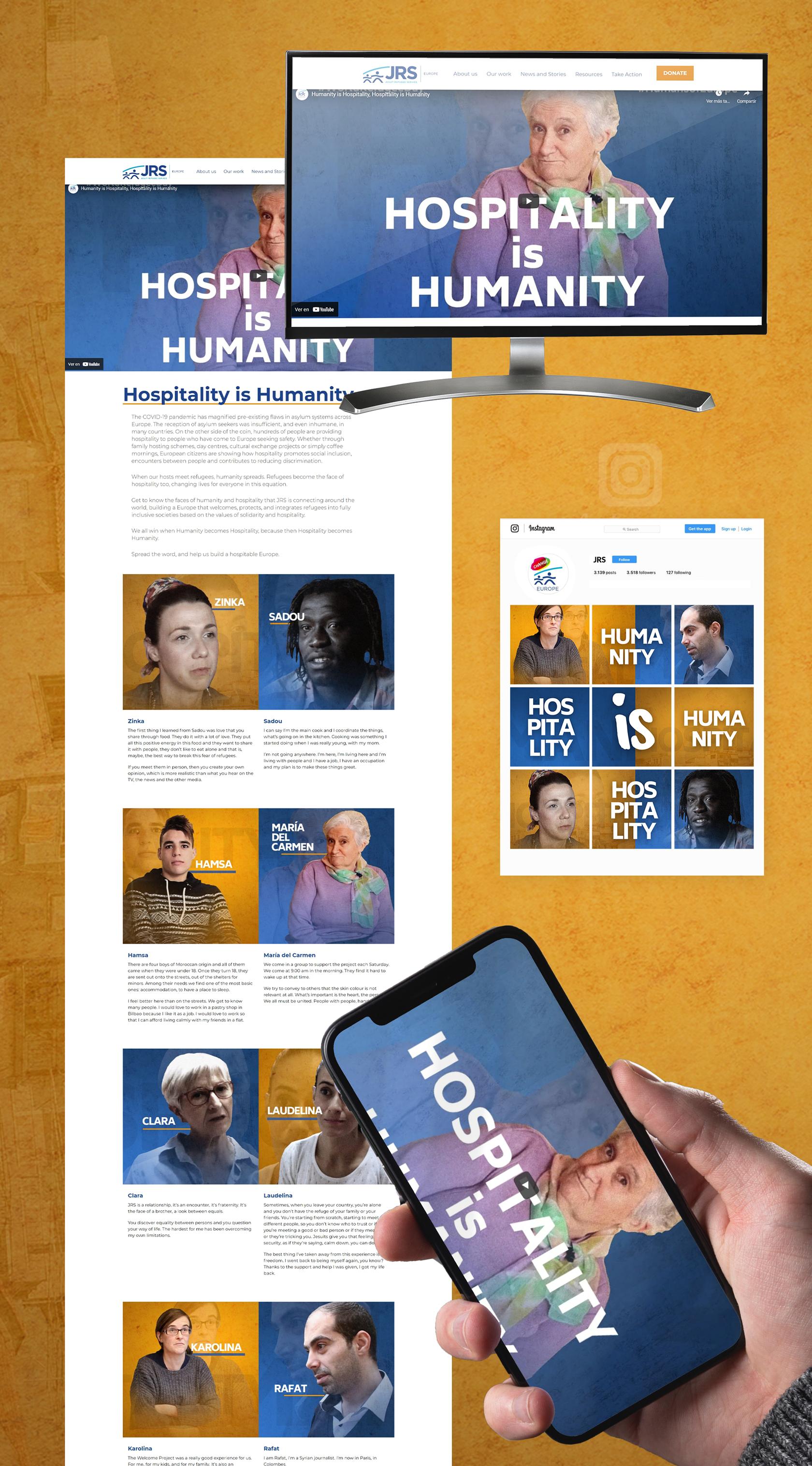 Campaña día Mundial de los Refugiados